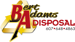 Bert Adams Disposal | Garbage & Recycling, Dumpsters, Roll-off Containers - Broome, Chenango, Delaware, Cortland, Madison, Otsego